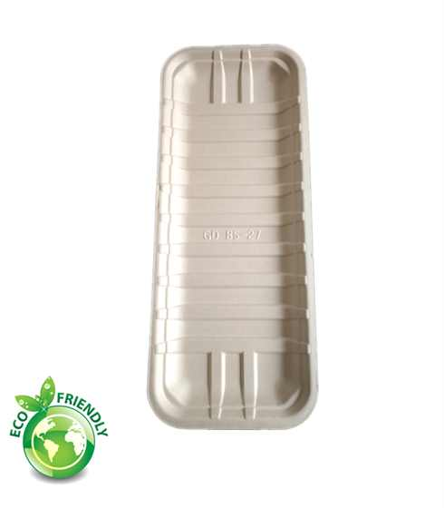 8 way cut food tray biodegradable and compostable