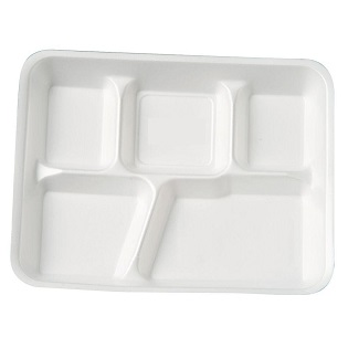 Biodegradable and Compostable Food Plate 5cp round