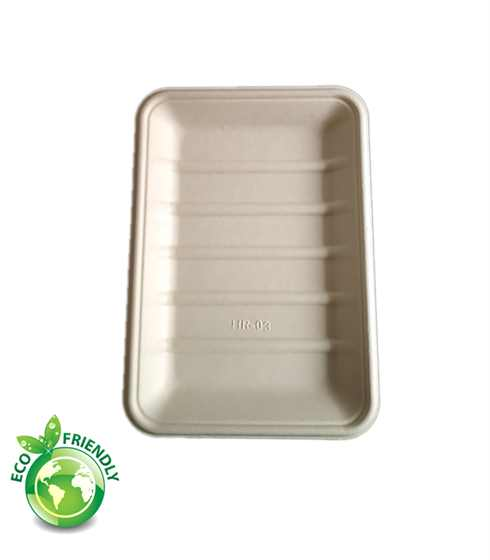 5 way cut food tray biodegradable and compostable