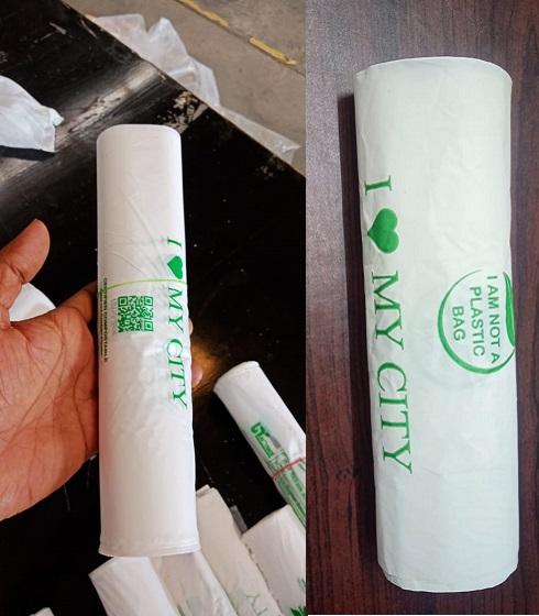 Biodegradabel Compostable Grocery bag rolls best quality