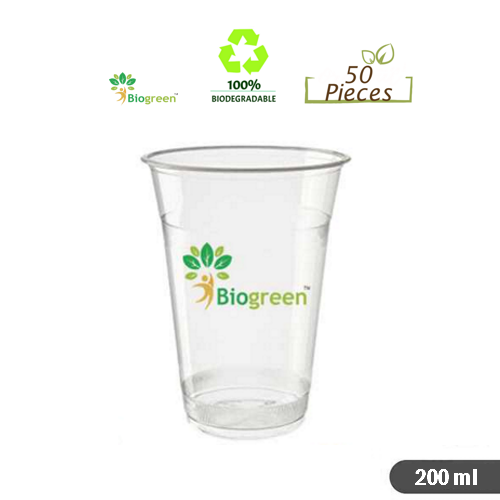 Biodegradable and Compostable cups 200ml